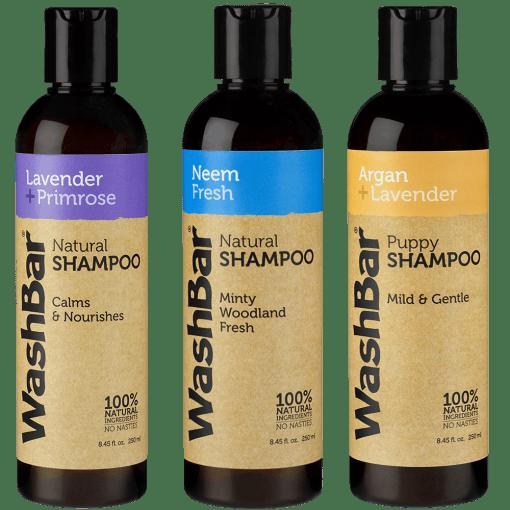 WashBar shampoo's